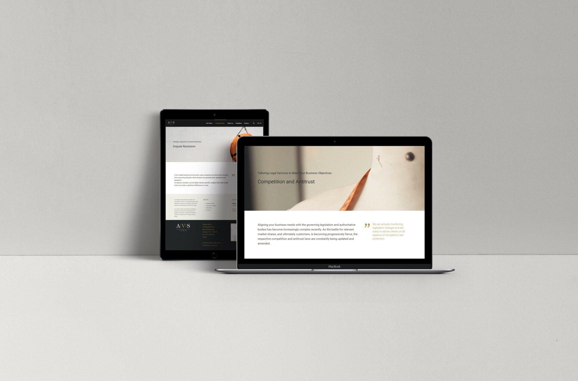 AVS Legal Website Practice Area Page